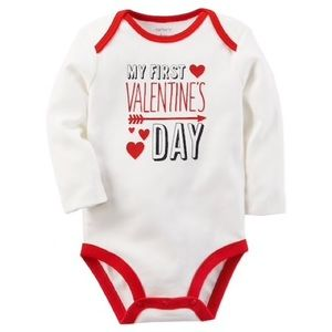 Baby's Valentine's Day Graphic Bodysuit